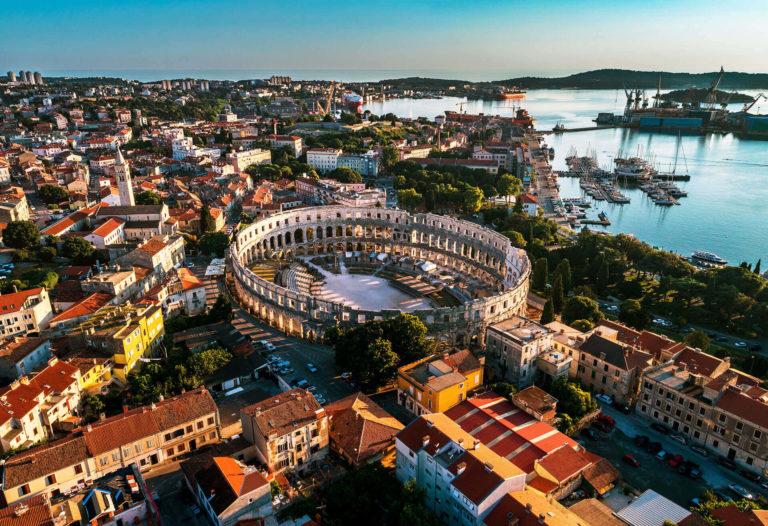Pula city, Croatia