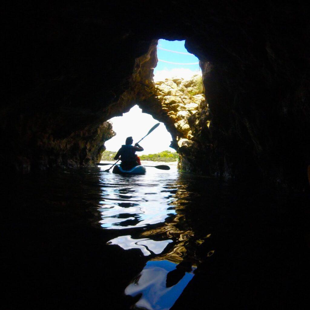 Clifs and Cave Kayak Tour